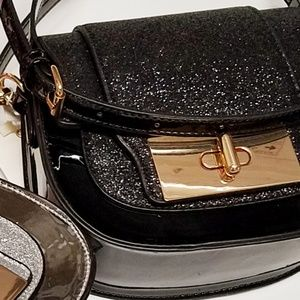 Isabelle Bags - Isabelle Glitter Crossbody NEW! JUST IN!